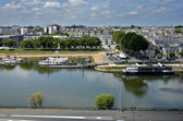 The Maine river at Angers in France — Stock Photo