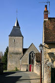 Church Bourg-le-Roi in France — Stock Photo