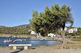 Port Lligat in Spain. — Stock Photo