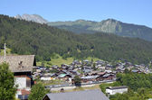Town of Morzine in France — Stock Photo
