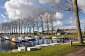 Marina of Ouistreham in France — Stock Photo