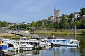 Port of Angers in France — Stock Photo
