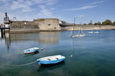 Boats at Concarneau in France — Stock Photo