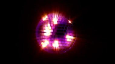 Disco Mirrorball — Stockvideo