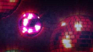Disco Mirrorball — Stock Video