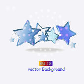 Vector background with stars — Stock Vector
