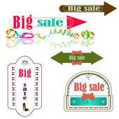 Grote verkoop — Stockvector