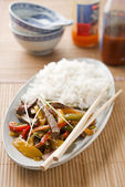 Chinese meal — Stock Photo