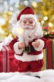 Santa leksak — Stockfoto