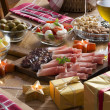 Holiday feast — Stockfoto