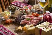 Holiday feast — Stock Photo