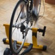 Stock Photo: Cycle trainer