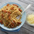 Stock Photo: Spaghetti