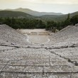 Stock Photo: Ancient theatre