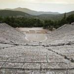 Ancient theatre — Stock Photo