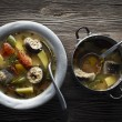 fish stew — Stock Photo