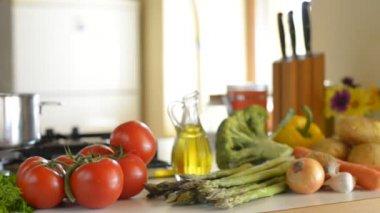 Prepared food — Stock Video