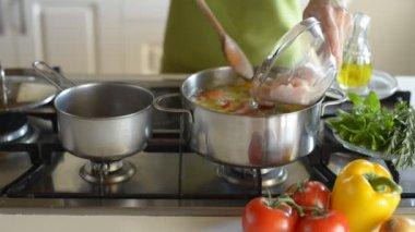 Cooking-series — Vídeo de stock