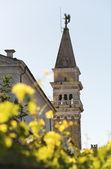 Church in Piran- Slovenia — Stock Photo