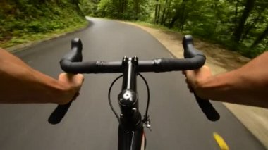Road cycling — Stock Video