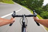 骑自行车 — 图库照片