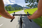 Road cycling — Stock Photo