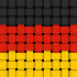 German flag. - Stock Vector
