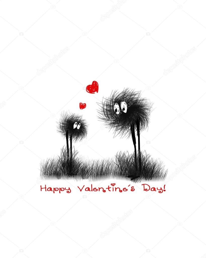 Valentine card. Vector illustration. eps8 — Stock Vector #19271487