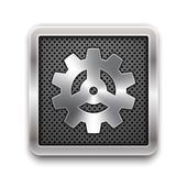 Gear icon — Stock Vector