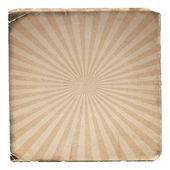 Grunge sunburst vector image — Stock Vector