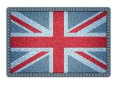 Great Britan flag. Vector illustration. eps10 — Stock Vector