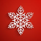 Vector background with snowflake. eps10 — Vecteur
