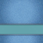 Realistic vector denim background. — Stock vektor