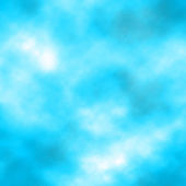 Vector clouds realistic illustration. Blue background — Vector de stock