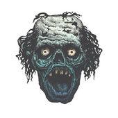 Poster Zombie Outbreak.  Vector illustration — Stock Vector