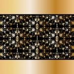 Floral vintage golden background. Vector — Stock Vector #12313613