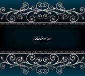 Ilustrace luxusní pozvánky. vektor — Stock vektor