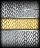 Metal texture. Vector background — Stock Vector
