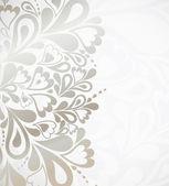 Illustratie zilveren achtergrond voor ontwerp — Stockvector