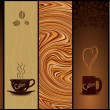 Set of coffee banners. Vector illustration - Grafika wektorowa