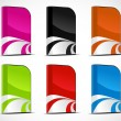 Royalty-Free Stock Imagem Vetorial: Vector set of software boxes