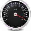 Automobile Speedometer. Vector - Stock Vector