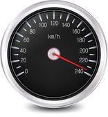 Automobile Speedometer. Vector — Stock Vector