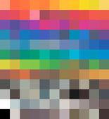 Transformations dynamiques de tons couleur cmjn. vector — Vecteur