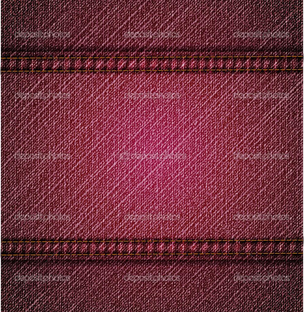 详细的粉红色牛仔裤纹理.矢量图背景.eps10— 矢量图片作者 emaria