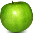 Royalty-Free Stock Vector Image: Green Apple. Vector