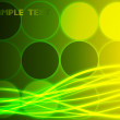 Abstract green background. Vector — 图库矢量图片