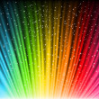 Royalty-Free Stock Vector Image: Shine rainbow background with stars. Vector