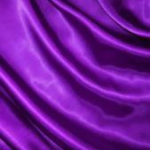 Soepele elegante lila zijde. vector — Stockvector