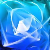 Mavi renkli çiçek şeklinde. vektör — Stok Vektör